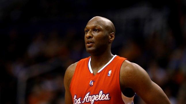 Lamar Odom 2013. aastal Clippersi vormis.