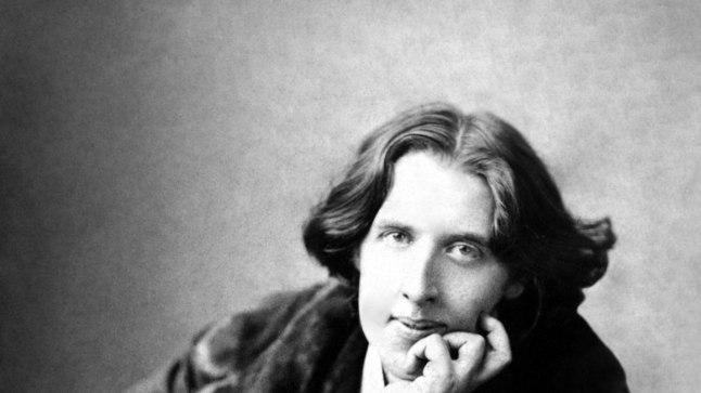 Kirjanik, poeet ja esteet Oscar Wilde.