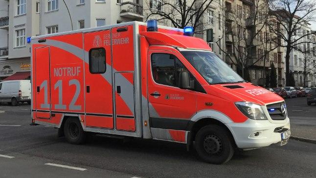 Saksa kiirabiauto. Pilt on illustratiivne.