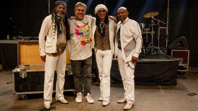 """Allan Roosileht ansambliga Londonbeat, kes esineb festivalil """"We Love The 90s"""" laupäeval."""