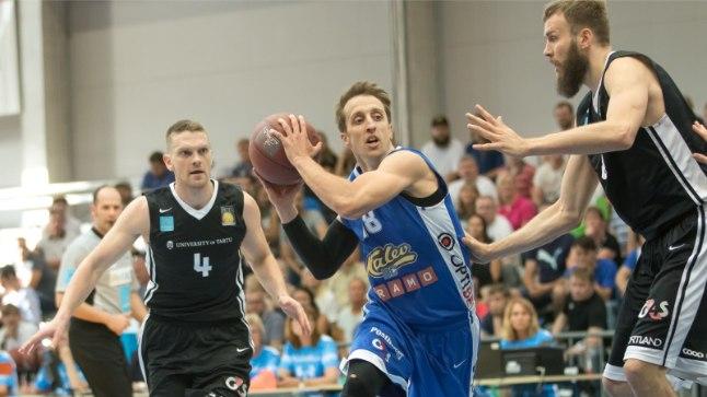Tanel Sokk (vasakult) ja Branko Mirkovic mängivad algaval hooajal Kalev/Cramos, Janar Taltsi klubi pole veel päris selge.