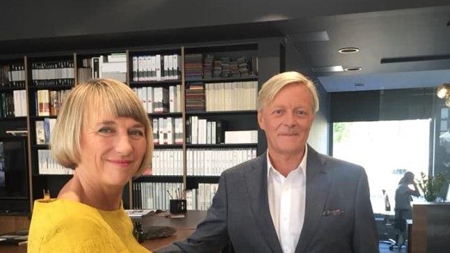 Margit Kilumets ja Margus Tabor