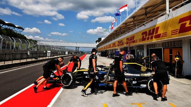 Nico Hulkenbergi Renault'l vahetatakse jõuallikas välja.