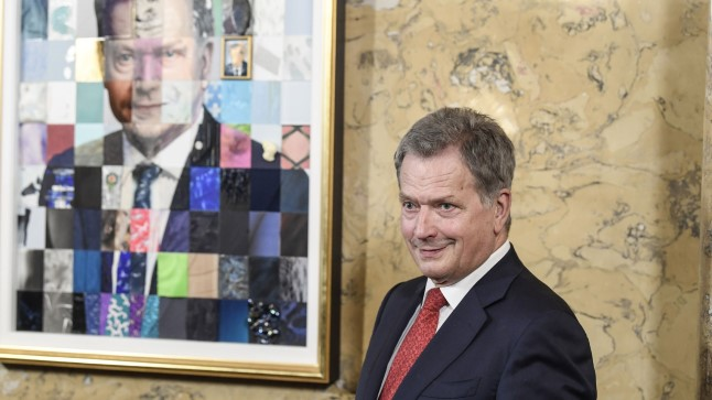 Soome president Sauli Niinistö (70).