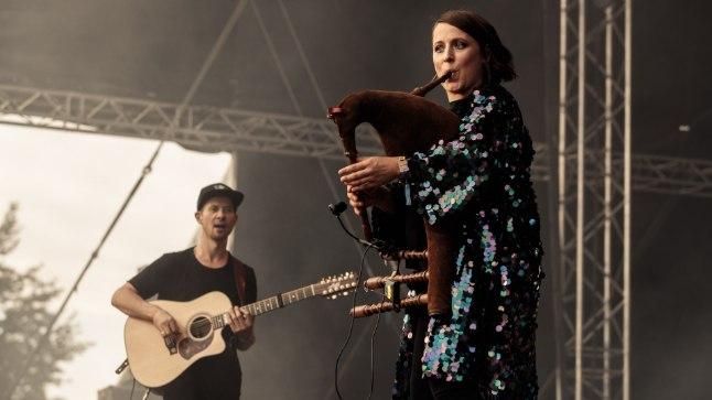 Sandra ja Jalmar Vabara esinemas Trad.Attackiga! Sweet Spot festivalil selle aasta augustis.