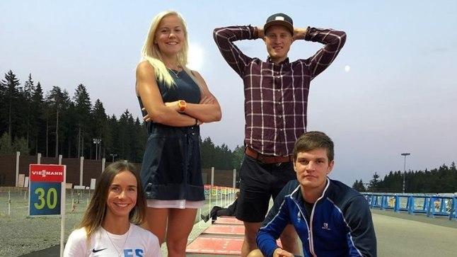 Eesti segapaaristeate võistkond.