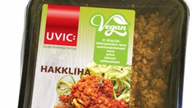 """VEGANIHAKKLIHA: Veterinaar- ja toiduameti hinnangul pole sõna """"vegan"""" lisamine tarbija segaduse vältimiseks piisav"""