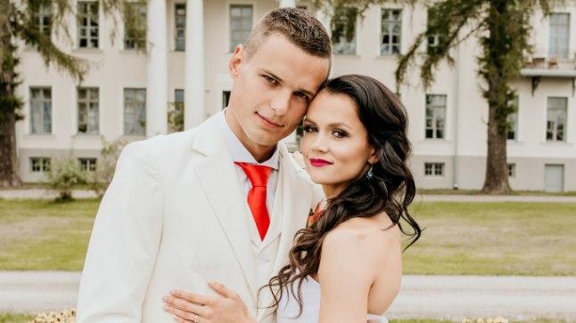 Jana ja Siim-Sten oma elu ilusamail päeval.