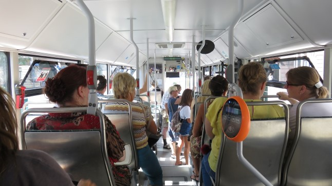 Tallinna bussides küündivad temperatuurid 39 kraadini