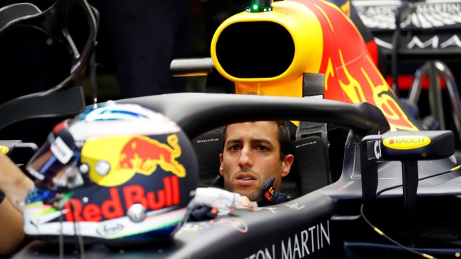 Daniel Ricciardo.