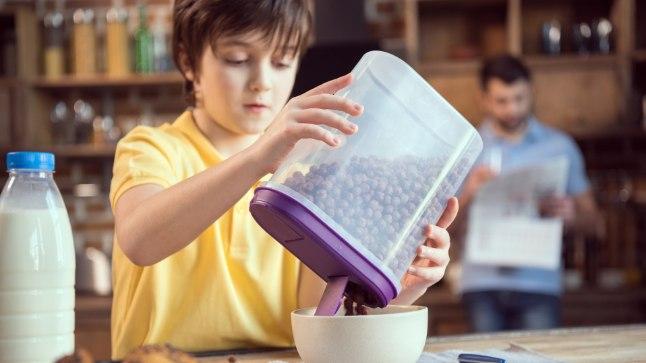 Kuigi hommikuhelbed on laste suured lemmikud, neile sellest kogu päevaks ei piisa.