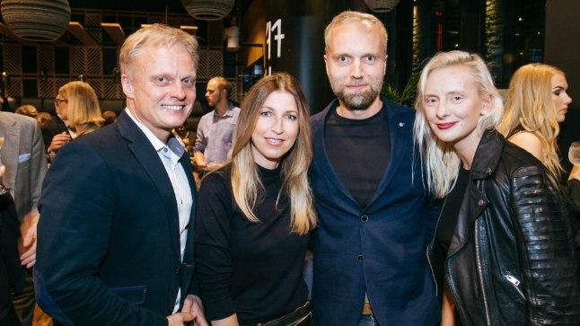 Restoran Noya korraldas meeleoluka VIP avapeo, Imre Sooäär, Maarja-Liis Ilus, Fred Krieger, Liilit Kirss
