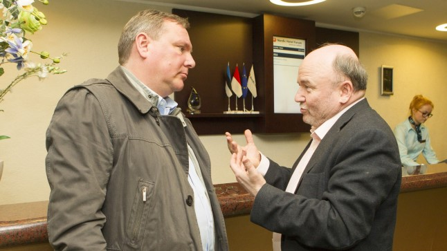 Kalev Lillo ja Igor Gräzin.