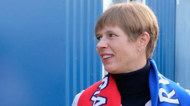 Proua president käis Narvas kohalikule Transile kaasa elamas.