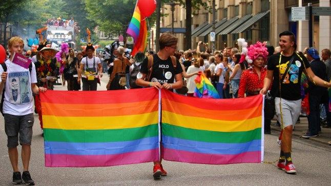 Homoparaad Saksamaal.
