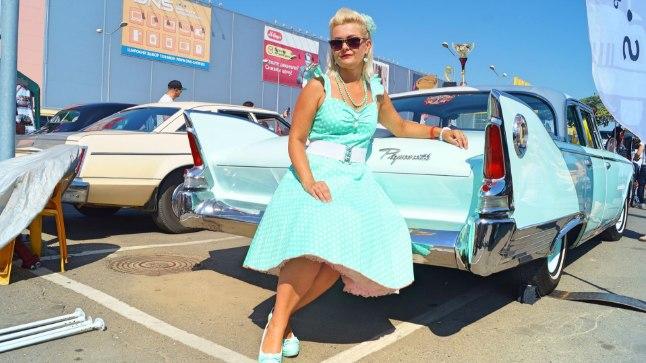 KRASNODARIS: JugMotorShow'l on Aile käinud kaks korda. Mullu juba oma isikliku autoga ja siis ei jäänud ta märkamata – Plymouth Fury saavutas konkursil retroautode kategoorias kolmanda koha.