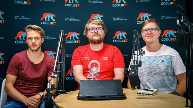 Janar Toomet, Siim Kera, Mart Treial Kolmanda poolaja stuudios.