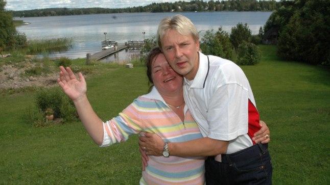 VEEL KOOS JA HOOS: Mervi Tapola Matti Nykänen 2005. aastal.