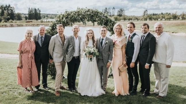 """""""Pealtnägija"""" perekond Anna ja Kristjan Pihli pulmapäeval"""