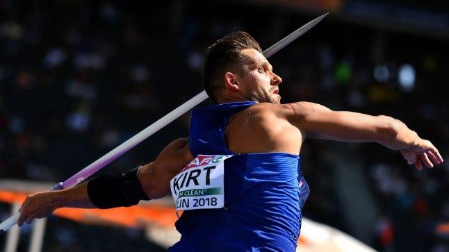 Magnus Kirt saavutas EMil tulemuse 85.96.
