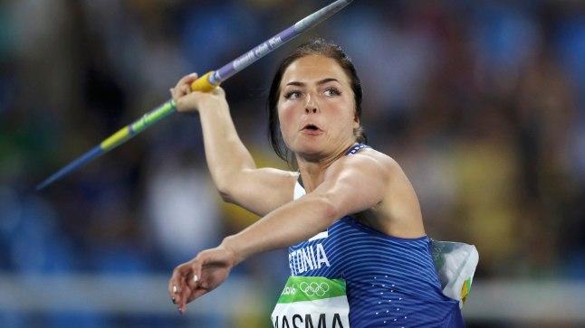 Liina Laasma Rio olümpial.