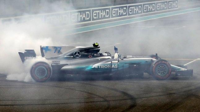 Mercedese sõitja Valtteri Bottas mullu Abu Dhabi GP-l.