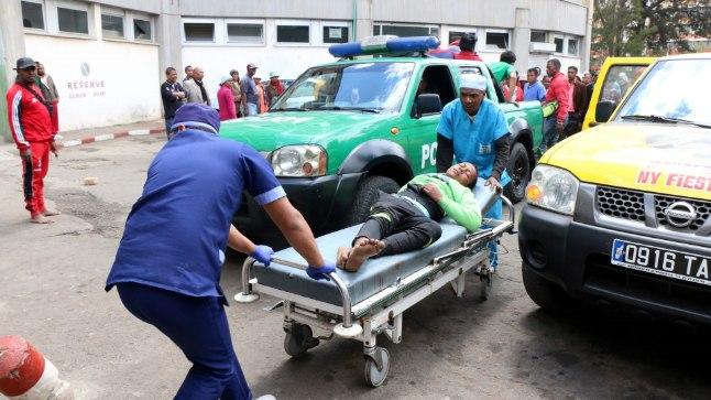Metsikus tunglemises sai vigastada vähemalt 37 inimest.