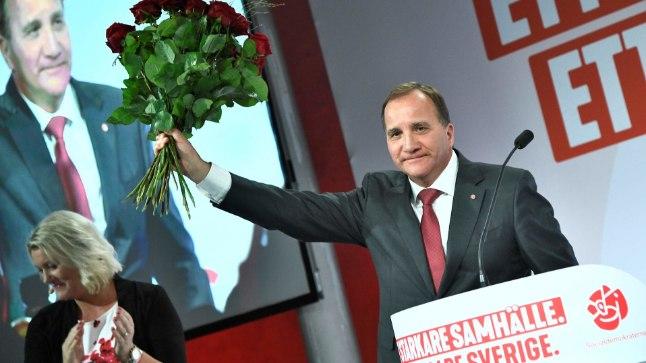 Rootsi senine peaminister Stefan Löfven esialgu tagasi ei astu.