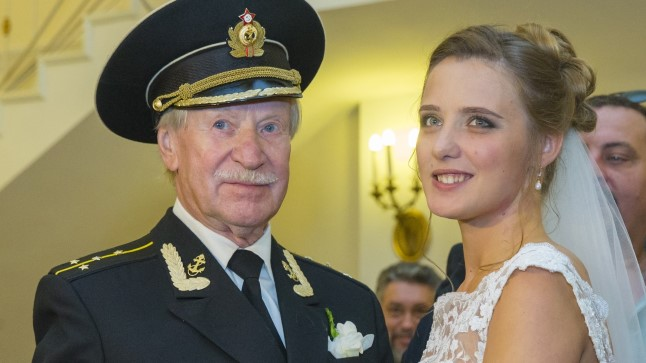Ivan Krasko ja Natalja abiellusid 2015. aasta septembris.
