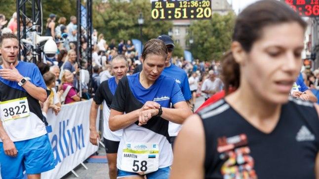 President Kersti Kaljulaid Tallinna maratonil