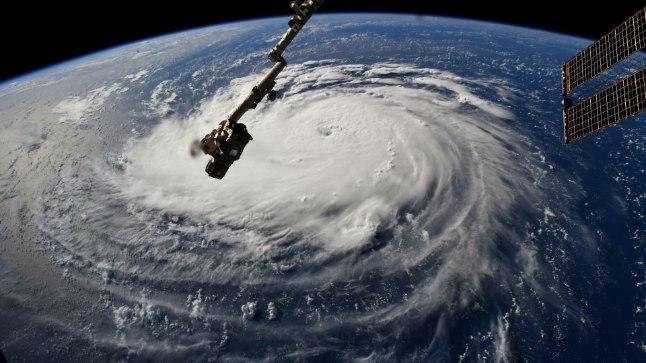 Selline paistab Florence rahvusvaheliselt kosmosejaamalt