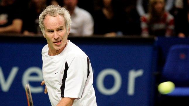 Tunnete ära? John McEnroe on aktiivselt osalenud veteranide turniiridel-mängudel.