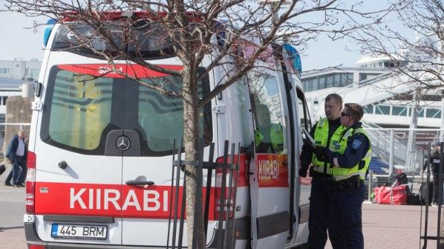 Politsei ja kiirabi. Pilt on illustratiivne.