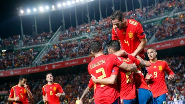 Hispaania sai teisipäeval rõõmustada koguni kuuel korral.