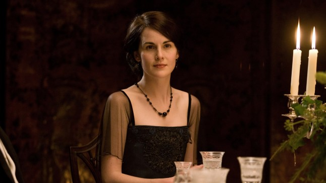 "Michelle Dockery ""Downton Abbey"" teisel hooajal Lady Mary rollis."