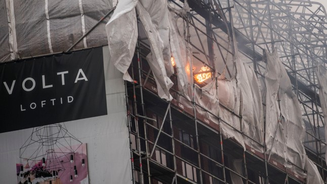 Põleng Volta Loftides