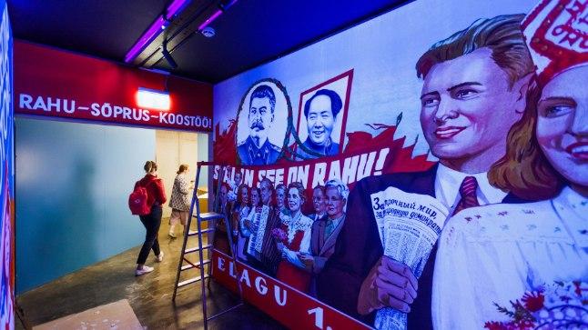 Nõukogude propagandakunst Vabamus.