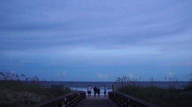 Vaikus enne tormi. Foto on tehtud Põhja-Carolinas 11.septembril.