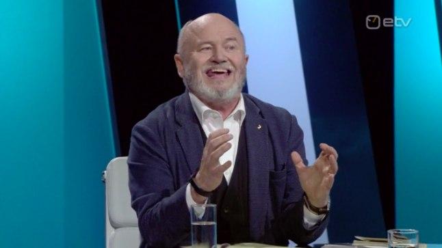 """Igor Gräzin saates """"Esimene stuudio""""."""