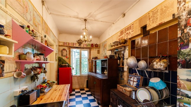 Köök täis vanakraami