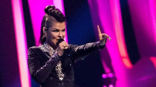 Saara Aalto tänavu mais Lissaboni Eurovisionil.