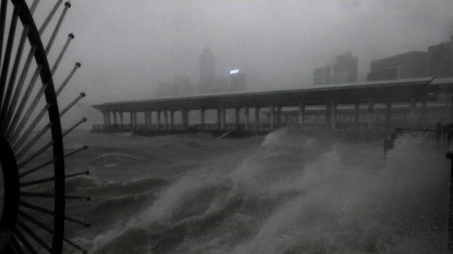 Taifuun Mangkhut Filipiinidel.