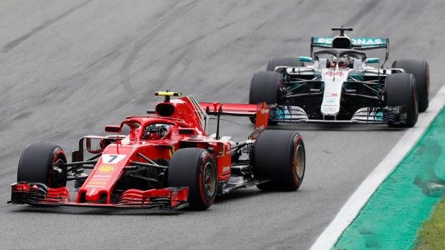 Räikkönen hoidis pikalt Hamiltoni seljataga, aga ei kestnud lõpuni!