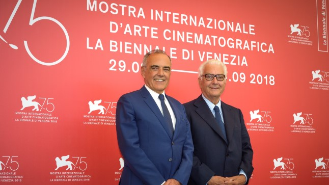 Alberto Barbera ja Paolo Baratta