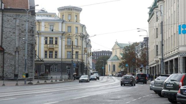 Autovaba päev Tallinnas.