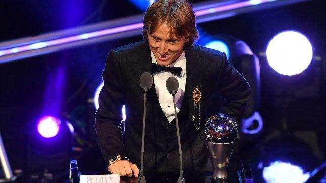 FIFA valis maailma parimaks jalgpalluriks <font color=&quot;#d30008&quot;>Modrici</font>! <font color=&quot;#628e24&quot