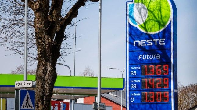 kütusehinnad 3.05.18