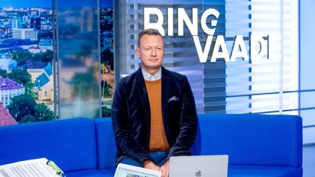"Marko Reikop ""Ringvaate"" uues stuudios."