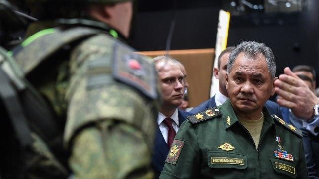 """Venemaa kaitseminister Sergei Šoigu augustis Moskva lähistel peetud militaarnäitusel """"Army-2018"""". Kui keegi teab Venemaa sõjalise eelarve täpseid numbreid, siis on see alates 1994. aastast katkematult ministriametis (varem eriolukordade minister) olnud Šoigu."""