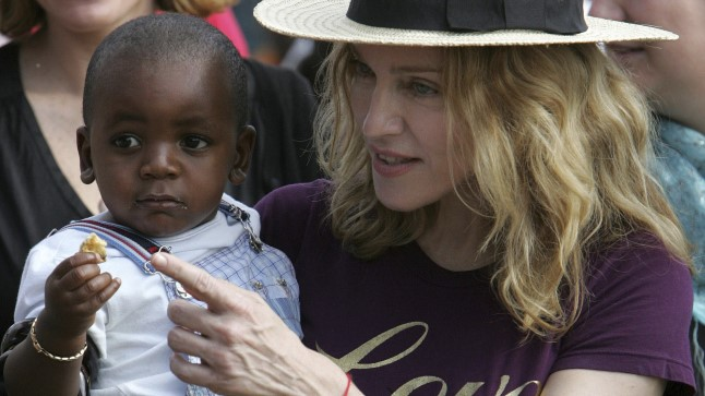 Madonna koos David Bandaga 2007. aastal.